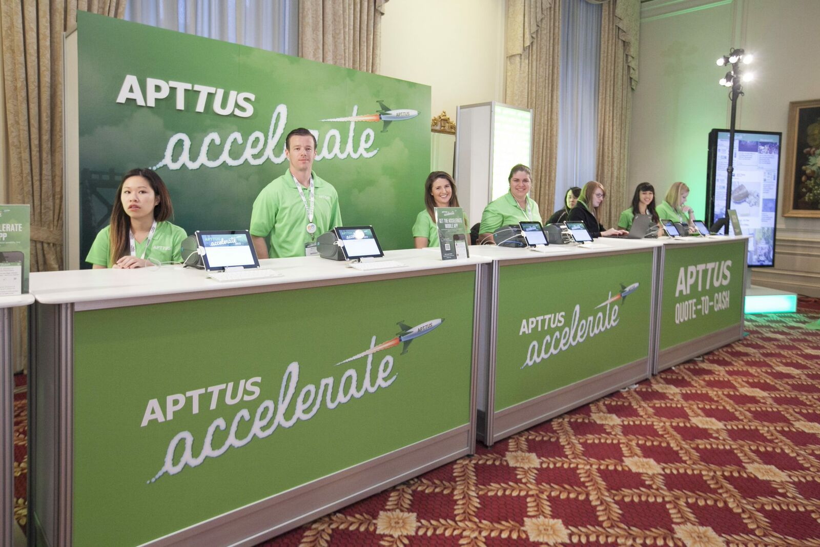 Apttus Acelerate 2015 - Drive Production Event